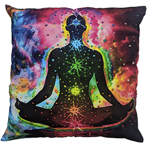 Sparkle Multicolour Digital Cotton 16″ × 16″ Pillow