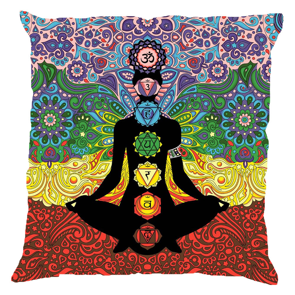 Yoga Man Chakra Twelve Colors